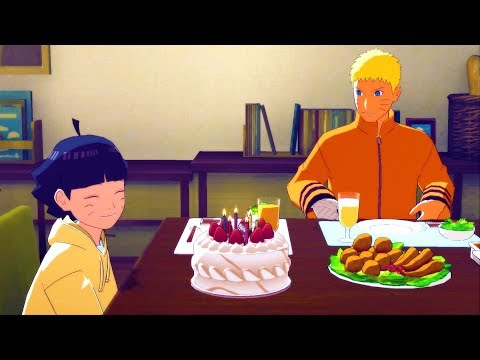 Himawari's Birthday - Sasuke Meets Boruto And Hinata - Road To Boruto Game - Naruto Shippuden