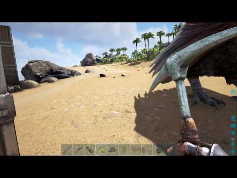 ARK: Survival Evolved (Одиночка) #63 - База на острове хищников
