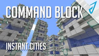 Minecraft: INSTANT EPIC CITIES! (CB Review!)