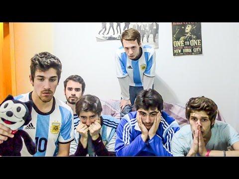 Argentina 0 (2) Chile 0 (4) | Final Copa América 2016 | Reacciones AMIGOS