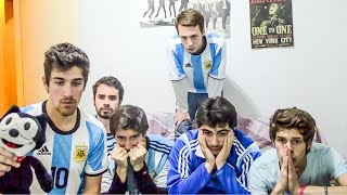 Video Argentina 0 (2) Chile 0 (4) | Final Copa América 2016 | Reacciones AMIGOS MP3, 3GP, MP4, WEBM, AVI, FLV September 2017