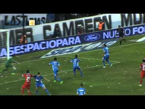 Las polémicas del primer tiempo. Racing 0 - Independiente 0. Fecha 12. Primera División 2016.