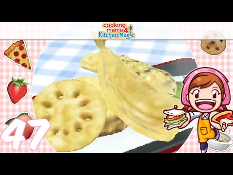[Let's Play] Cooking Mama 4 Kitchen Magic - EP47: Tempura ( ゚▽゚)/
