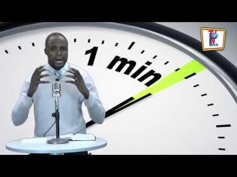 1 MINUTE AVEC JÉSUS Vaincre l'inquiétude - Évangéliste Prince KOUKA