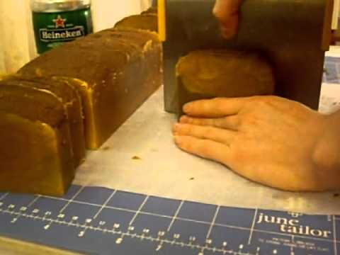 Cutting Spiced Autumn, Heineken Soap with Rhassoul Clay & Hemp Oils.