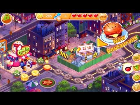 Cooking Craze By Big Fish Games - Level 1 To 3 - IOS Gameplay