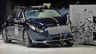The 2017 Lincoln Continental is an all-new vehicle with a revived model name. It replaces the Lincoln MKS. The Continental's optional front crash prevention system earns a superior rating. When equipped with the system, the car avoided collisions in IIHS track tests at 12 mph and 25 mph. The system also has a forward collision warning component that meets National Highway Traffic Safety Administration (NHTSA) criteria.If you love cars you should subscribe now to YouCar the world famous automotive channel: https://goo.gl/5i54Vg