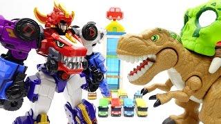 Video Go Go Dino-Core, Dinosaurs in Tayo The Little Bus Parking Tower ~!про машинки Поли Игрушки MP3, 3GP, MP4, WEBM, AVI, FLV Oktober 2018