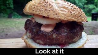 Shrimp n Beef Burger in One Minute by BBQ Pit Boys