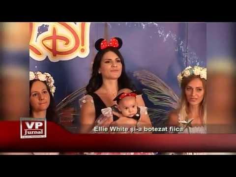 Ellie White si-a botezat fiica