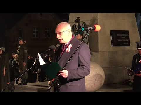 Wideo1: Obchody Święta Niepodległości w Rawiczu