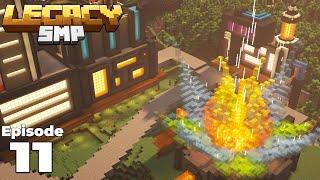LegacySMP : Building an Cyberpunk MEGA Structure in my Minecraft 1.15 Survival Base