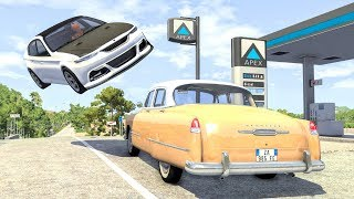Video High Speed Traffic Crashes #25 - BeamNG Drive | CrashBoomPunk MP3, 3GP, MP4, WEBM, AVI, FLV September 2019