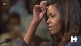 Poruszające wystąpienie Michelle Obamy.