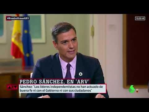 ¿Contestará hoy Pedro Sánchez en #ElDebateDecisivo si va a indultar a los presos golpistas?