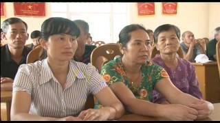 Tổ Đại biểu HĐND thành phố tiếp xúc cử tri xã Điền Công