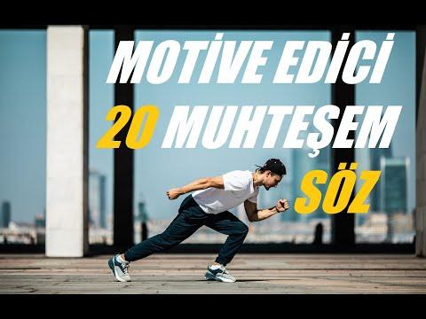 MOTİVE EDİCİ 20 MUHTEŞEM SÖZ (видео)