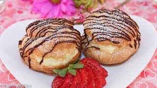 Cream Puffs (Banh Choux/Banh Su Kem/Choux à la Crème)
