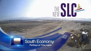 Time Lapse of SLC South Economy Parking Lot