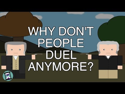 Why Don't People Duel Anymore (Short Animated Documentary)