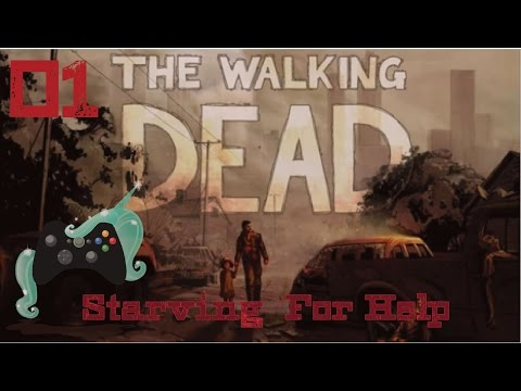 That B-ach ate my BUNNY! Game Play The Walking Dead S1 Chapter 2 EP01 HD