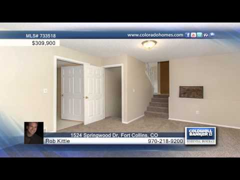 1524 Springwood Dr  Fort Collins, CO Homes for Sale | coloradohomes.com