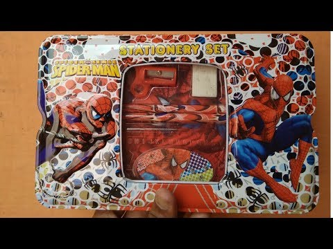 Spiderman Stationery Pencile Box