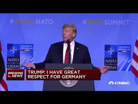 Trump: NATO allies agree to increase spending, withdrawal unnecessary | In The News