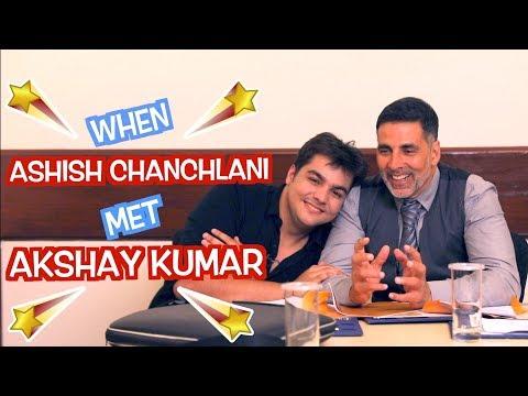 When Ashish Chanchlani Met Akshay Kumar | GOLD