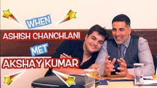 Video When Ashish Chanchlani Met Akshay Kumar | GOLD MP3, 3GP, MP4, WEBM, AVI, FLV Oktober 2018