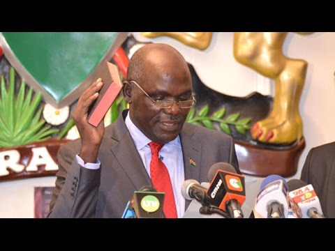 Chebukati assumes office, pledges free and fair August poll