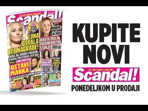 SCANDAL NOVINE: Luna ostala bez nagrade! Ana i David raskidaju! Ana Bekuta imala predinfarktno stanje! Tanja Savić mora na operaciju!