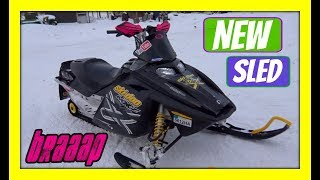 9. First Snowmobile | 2004 Skidoo MXZX 600 HO Rev