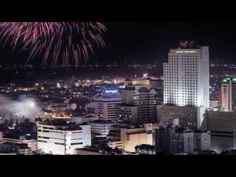 Hatyai city Skyline Southern Thailand [HD].ไทย
