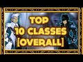 AQW Top 10 Best Classes of AQWorlds! (Overall) - (Strongest Classes) 2016!