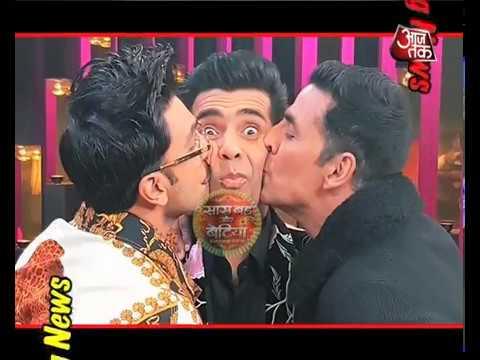 Ranveer Singh & Akshay Kumar In Koffee With Karan!