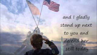 Greenwood (IN) United States  City new picture : Lee Greenwood- God Bless the U.S.A. lyrics