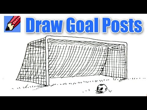 How to draw Goal Posts Shoo Rayner