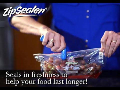 ZipSealer- The Perfect Zipper Lock Bag Sealer Patents Pending