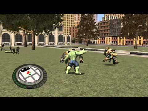 el increible hulk gameplay un show mas pelea de punos
