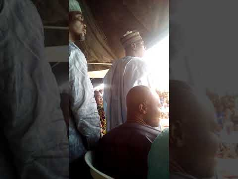BUHARI OMO MUSA IN A PRAYER SESSION WITH A-YES AT PDP SECRETARIAT ON MONDAY 10 DECEMBER 2018
