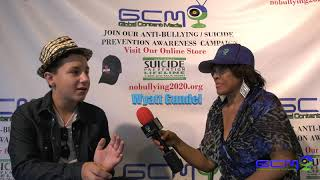 Nobullying2020 Series,  B'Anca interviews Wyatt Gunnel About What He Thinks About Bullying