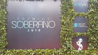 La Alfombra Roja de Premios Soberano 2019
