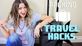 Packing TRAVEL HACKS + How To Pack full download video download mp3 download music download