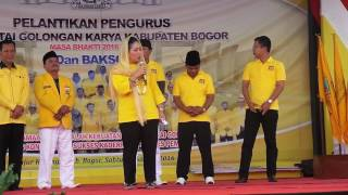 Download Video Pidato Titiek Soeharto Di Citayam Bogor 01 Oktober 2016 MP3 3GP MP4