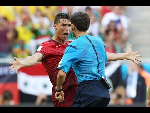0 Player Punches Referee!