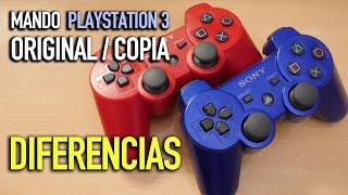 Mando PlayStation 3  COPIA vs ORIGINAL  Cómo diferenciarlos - Jugamer
