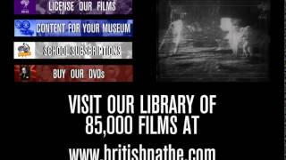 This video provides links to the British Pathé website for those interested in our products or services.A NEW THEME EVERY MONTH! Each month, a range of new uploads and playlists tell the story of a particular topic through archive footage. Let us know what themes you'd like to see by leaving us a comment or connecting with us on social media.BRITISH PATHÉ'S STORYBefore television, people came to movie theatres to watch the news. British Pathé was at the forefront of cinematic journalism, blending information with entertainment to popular effect. Over the course of a century, it documented everything from major armed conflicts and seismic political crises to the curious hobbies and eccentric lives of ordinary people. If it happened, British Pathé filmed it.Now considered to be the finest newsreel archive in the world, British Pathé is a treasure trove of 85,000 films unrivalled in their historical and cultural significance.ALL RIGHTS RESERVED