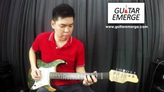 Hillsong Young & Free - Wake (Electric Guitar Cover & Tutorial)