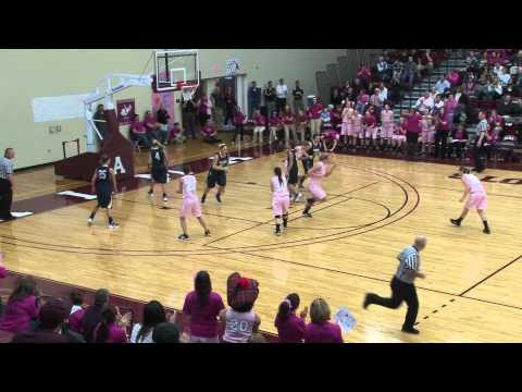 Alma College Women's Basketball vs. Trine University - February 18, 2012